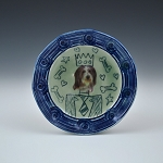 King Dog #2 - 5 inch plate