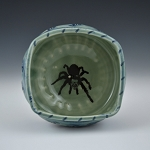 Tomrantula bowl - 5 inch diameter - SLIGHTLY FLAWED