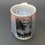 W.W.G.O.D? (Tom Mix) Mug - SLIGHTLY FLAWED - 12 ounces