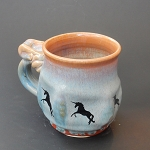 Jumping Unicorn Mug - 10 ounces