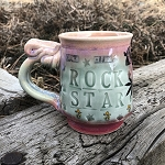 ROCK STAR - mug - 10 ounces