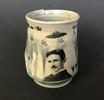 Tesla the Guru mug - 10 ounces