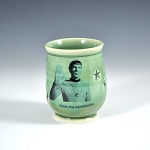 Kirk and Spock's social distancing - drink sipper - 8 ounces