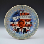 HAMBERDER!!! (Hail to the Chief) - 10 INCH PLATE - FREE SHIPPING
