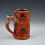 Tarantula Tom iron red coffee mug - 10 ounces