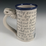 Wally's medical marijuana dream - big mug (12 oz.)