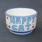 Happy Cat - bowl