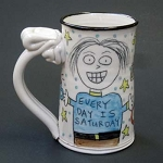 Every day is Saturday (retirement) (MALE) - mug
