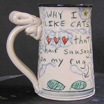 Why I like cats - mug