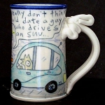 The real reason Wally drives a Prius - mug - OUT OF STOCK! SHIPS ON 4/30/20.