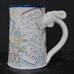 Wally wants free medical marijuana - mug - OUT OF STOCK! SHIPS ON 3/15/20.