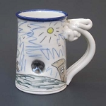 Wally encounters a black hole - mug - OUT OF STOCK! SHIPS ON 3/15/20.
