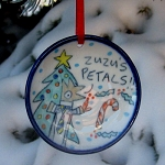 Zuzu's Petals! - ornament