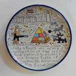 Wally's food pyramid - plate - DISCONTINUED