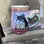 MOOCHER mug #3 - 10 ounces - SLIGHTLY FLAWED