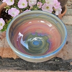 Sweet pastel bowl - 5 inch diameter