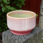 deep pink bowl - 4.5 inch diameter