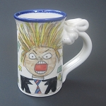I'm voting for Trump! mug - DISCONTINUED