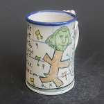 Wally puts on a George Washington mask to get purchase orders mug