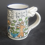Wally saves Noble Meadow mug