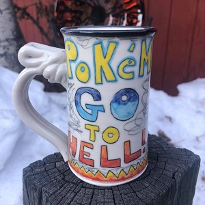 Pokemon go to hell - mug
