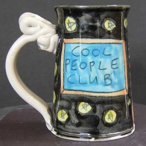 Cool people club - mug - OUT OF STOCK - SHIPS ON 6/20/20