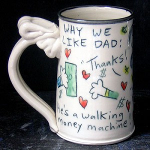 Why we like Dad - mug