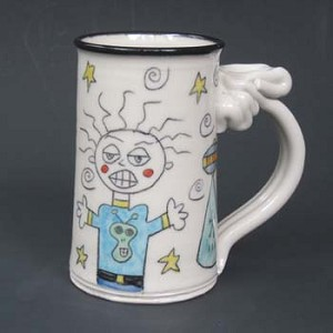 I was abducted by aliens! - mug