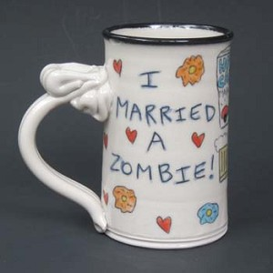 I married a zombie! - mug