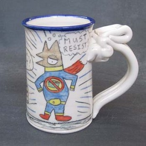 Wally goes gluten-free and it gives him a host of super powers - mug
