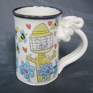I can't stop thinking about bees! - mug