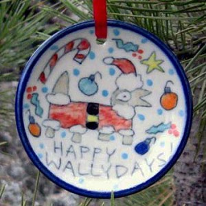 Happy Wallydays! - ornament