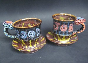 """Good Job"" cup and saucer set - DISCONTINUED"