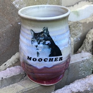 MOOCHER mug #4 - 10 ounces - SLIGHTLY FLAWED