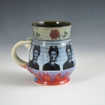 Frida Kahlo tribute mug - 10 ounces - IN STOCK