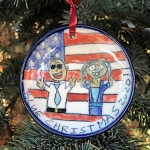Blue Christmas 2020! - ornament - out of stock - ships on 12/7/20