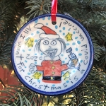 All I want for Christmas is a Covid vaccine! - ornament - OUT OF STOCK.