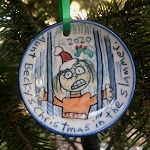 Aunt Becky's Christmas in the slammer. 2020 - ornament - ONE (1) IN STOCK!