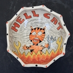 Hell Cat - bowl - OUT OF STOCK. SHIPS ON MAY 3, 2021