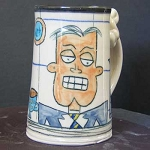 Sleep is for wimps (MALE) - mug