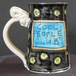 Cool people club - mug - OUT OF STOCK. SHIPS IN FEBRUARY 2021.