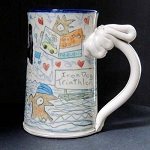 Wally gets adopted by empty nesters - mug -  OUT OF STOCK. SHIPS IN FEBRUARY 2021.