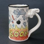 The best way to fix something is to bomb the crap out of it. - mug - OUT OF STOCK. SHIPS ON MAY 3, 2021
