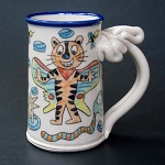 Wally mixes Lunesta and Frosted Flakes - mug -  OUT OF STOCK. SHIPS IN FEBRUARY 2021.