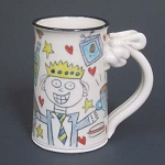 King for the day - mug -  OUT OF STOCK - SHIPS ON 11/8/20
