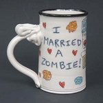 I married a zombie! - mug -  OUT OF STOCK - SHIPS ON 11/8/20