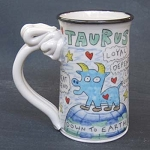 Taurus mug - IN STOCK.