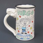 Virgo mug - OUT OF STOCK. SEE MESSAGE AT THE TOP OF THIS PAGE FOR NEXT AVAILABLE SHIP DATE.