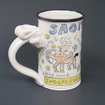 Sagittarius mug - OUT OF STOCK. SEE MESSAGE AT THE TOP OF THIS PAGE FOR NEXT AVAILABLE SHIP DATE.