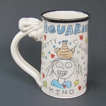 Aquarius mug - OUT OF STOCK. SHIPS ON MARCH 22, 2021